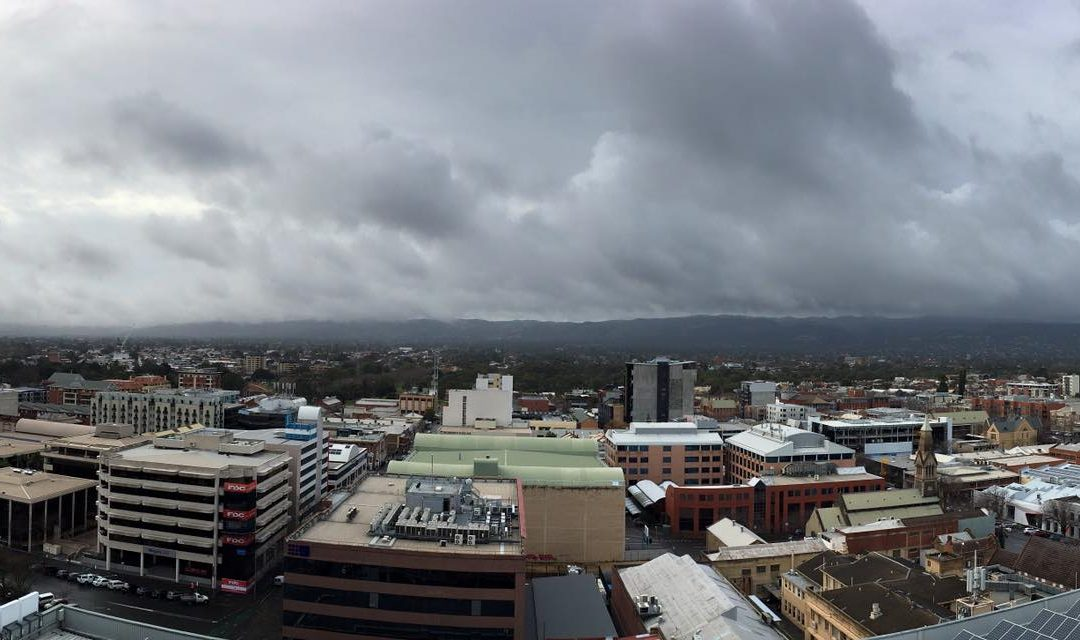 Bit overcast at the office today, storm's about to …