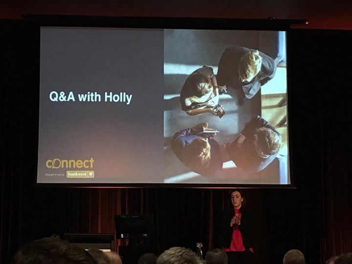 Honoured to be able to listen to @HollyRansom …