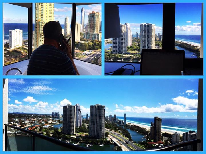 #office with a #view this #week …