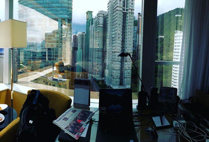 This week's office in #hongkong  …
